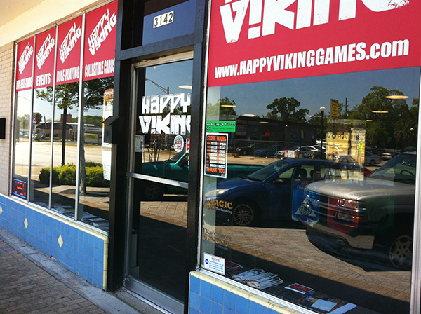 Tabletop day location, Happy Viking Games